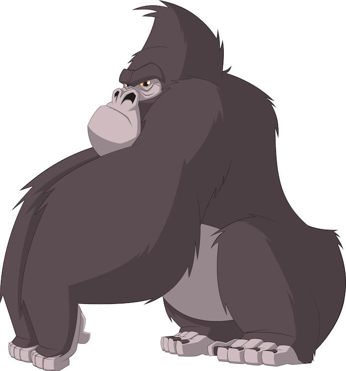 cartoon gorilla names