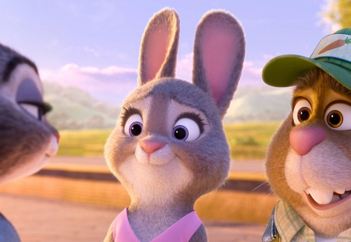 Female pet names from Zootopia characters