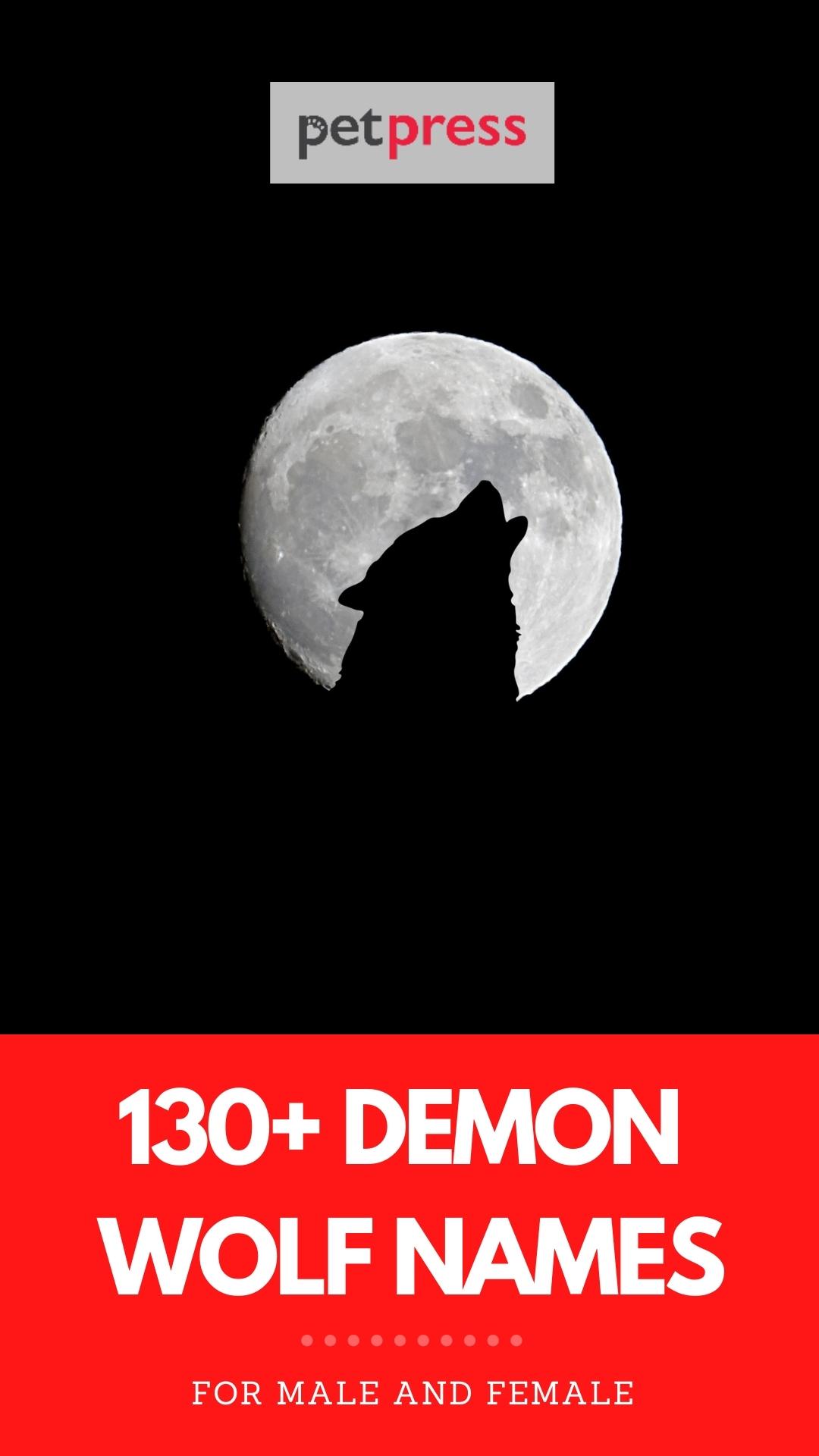 demon wolf names
